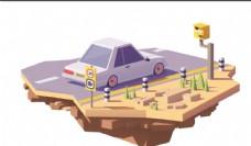 3D小汽车