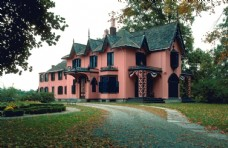 建筑摄影图片  别墅建筑素材