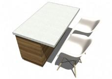 办公室会议室3d模型综合效果图