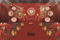 中式婚礼效果