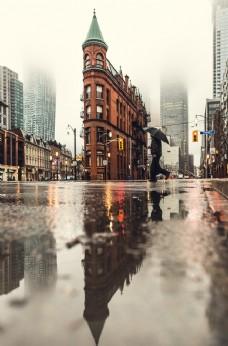 城市街道风光
