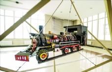 火车头模型图