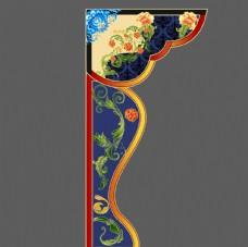 中式花纹背景