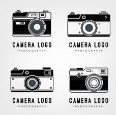 复古相机徽标