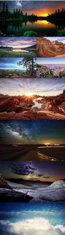 4K超清自然景观风景延时摄影