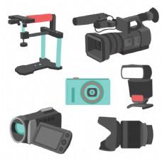 手绘摄像设备