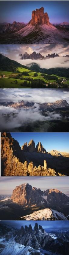 4K超清延时摄影实拍自然风光