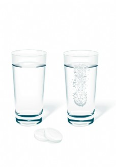 水杯分层素材