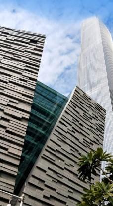 广州都市建筑群风景摄影
