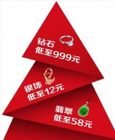 珠宝圣诞海报