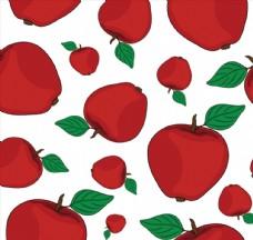 水果无缝背景矢量素材
