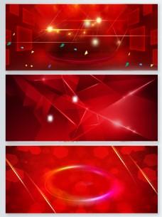 红色元宵节电商设计背景图