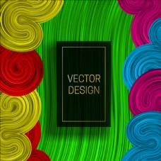彩色抽象底纹