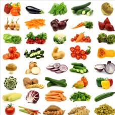 各种新鲜蔬菜