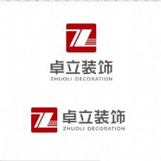卓力装饰logo