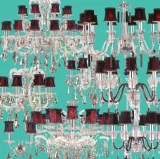 高清水晶灯饰吊灯