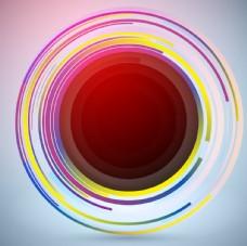 圆圈科技背景