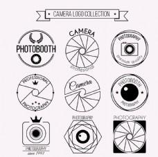 复古相机标志