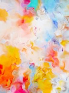 欧式抽象水彩装饰画