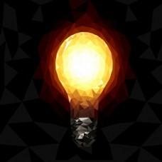 几何创意灯泡