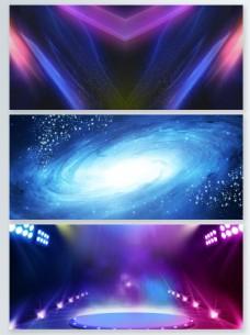 炫彩粒子光效背景合集