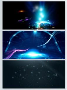 抽象高端粒子光效背景