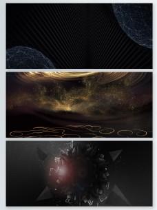 科幻抽象粒子光效背景