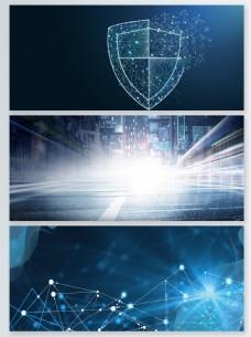 科技风粒子光效背景合集
