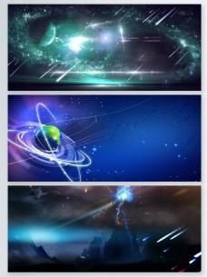 科幻粒子光效背景合集