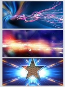 彩色粒子光效背景合集