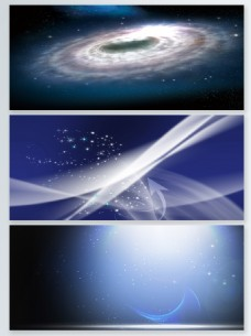抽象粒子光效背景合集