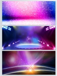 紫色梦幻粒子光效背景合集