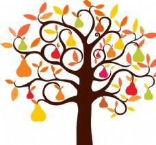 五颜六色的树