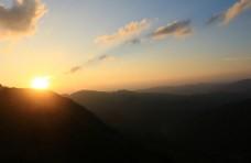 夏天 夕阳
